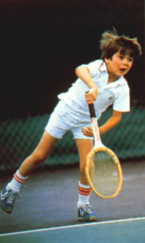 Agassi 7ans.JPG 564×942 pixels   Tennis Memories   Pinterest